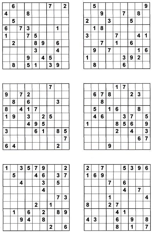 Sudoku Printables - Sudoku To Print